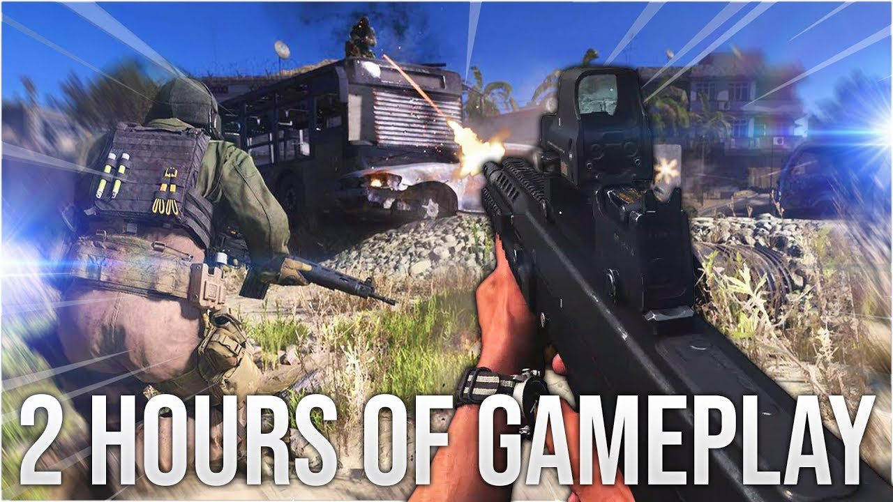 2 HOURS OF MODERN WARFARE GAMEPLAY thumbnail