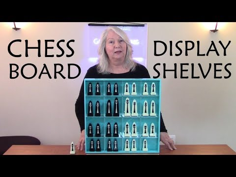 How to Design and Laser Cut a Combination Chess Board and Display Shelves