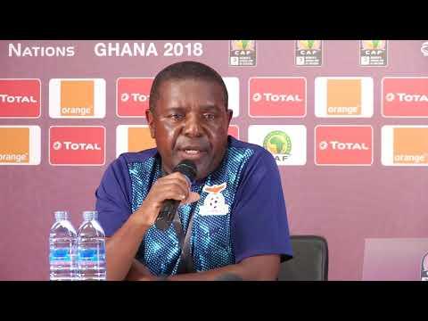 ZAMBIA V EQUATORIAL GUINEA POST MATCH PRESSER