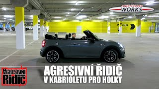 Aggressive Driver in a Convertible for girls - MINI JCW Initial D