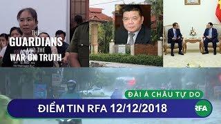 Điểm tin RFA tối 12/12/2018 | Blogger Mẹ Nấm được Time chọn là nhân vật tiêu biểu của năm 2018