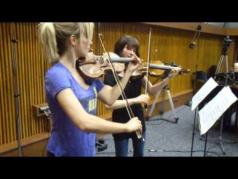 Caroline Campbell and Lisa Batiashvili at BRAVO RECORDS = 2