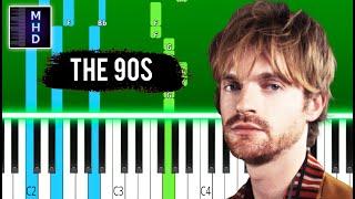 FINNEAS - The 90s - Piano Tutorial