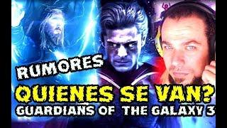 ¿QUE PASARA CON THOR?¿QUIENES DEJARAN A LOS GUARDIANES EN GUARDIANS OF THE GALAXY 3? ADAM WARLOCK