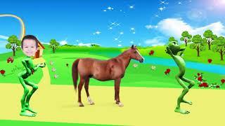 учить животных для малышей - животные для детей - видео развивающее #21