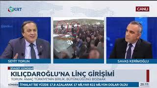 Siyaset Gündemi  Seyit Torun amp; Yavuz Ağıralioğlu  30 Nisan 2019  KRT TV