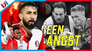 'Feyenoord Gaat Echt Niet Met Knikkende Knietjes Naar Amsterdam'