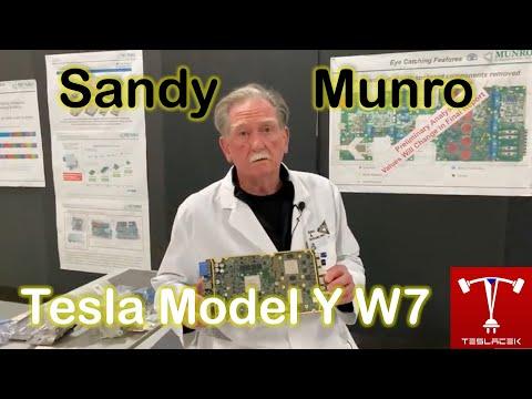 #179 Sandy Munro Tesla Model Y W7 | Teslacek