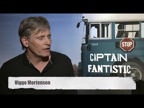 Captain Fantastic interview with Matt Ross and Viggo Mortensen.