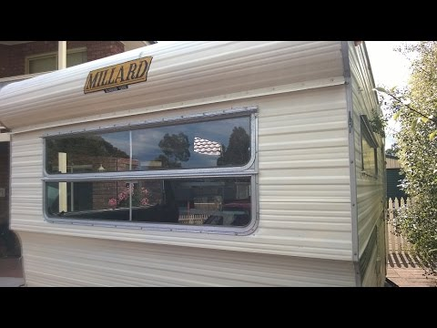 millard caravan window reseal process youtube rh youtube com