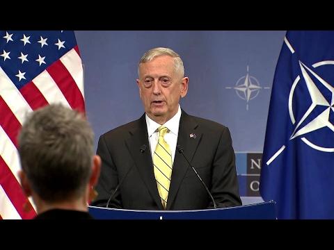 James Mattis -  NATO Post Ministerial Presser