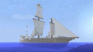 Repeat youtube video Minecraft boat burning