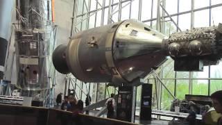видео Национальный музей космонавтики и авиации в Вашингтоне