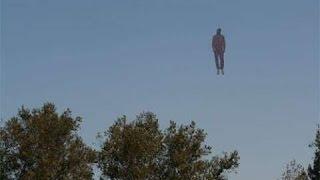 Летающий человек - или существо, который может летать, НЛО, Инопланетянин.