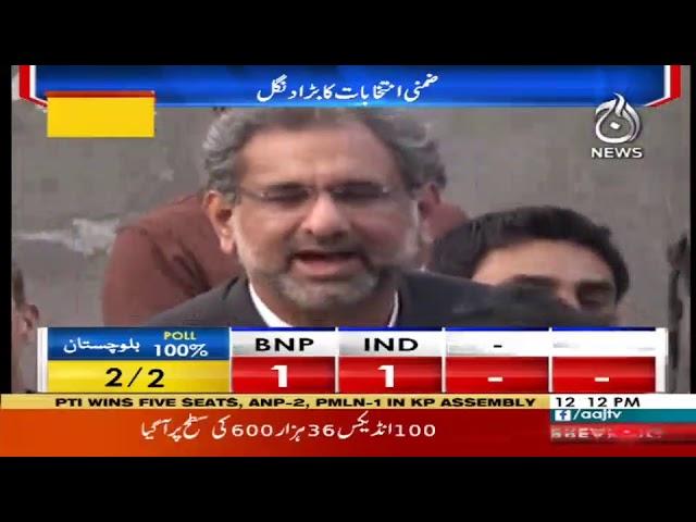 Headlines 12 PM   15 October 2018   Aaj News