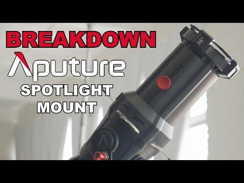Aputure Spotlight Mount | BREAKDOWN