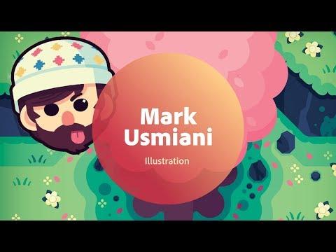 Live Illustration with Mark Usmiani - 1 of 3