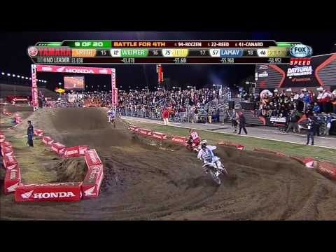 2013 AMA Supercross RD 10 Daytona 450 Main Event HD