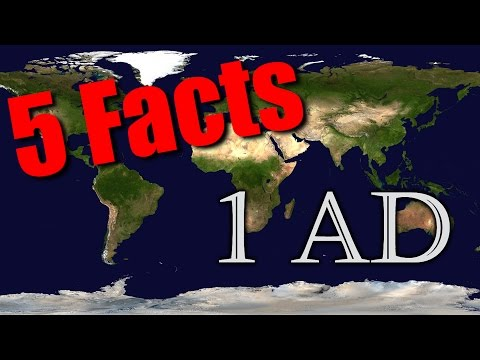 5 Facts about 1 AD (History Facts)
