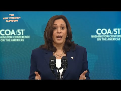 VP Harris: Roll over Citizens, your money goes to Central America.