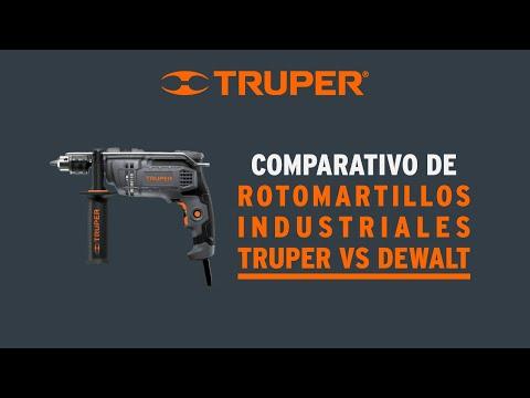 Video comparativo de rotomartillos industriales Truper 2 thumbnail