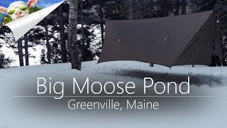 Should've Brought the Snowshoes | Winter Hammock Camping in Northern Maine