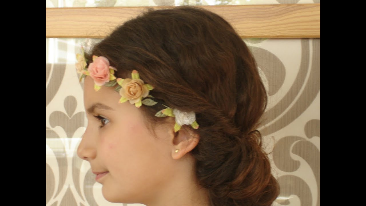 Peinados de ni as para comuniones ceremonias y - Peinados de ninas ...