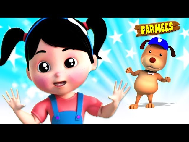 Open Shut Them | Nursery Rhymes & Children Songs | Kindergarten Cartoons by Farmees