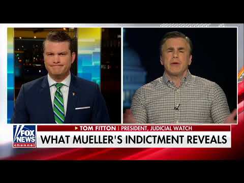 Judicial Watch President explains the Russian indictments