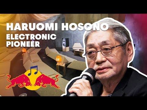 Haruomi Hosono Lecture (Tokyo 2014) | Red Bull Music Academy