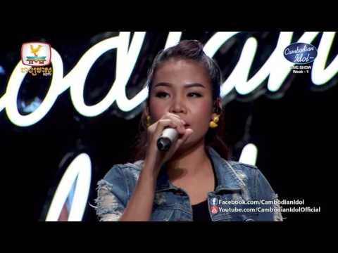 Cambodian Idol Season 2   Live Show Week 1   ឈិន ម៉ានិច្ច   បេះដូង ១០០