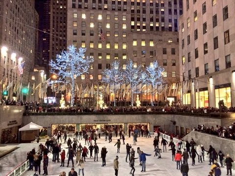 Christmas Time in New York City