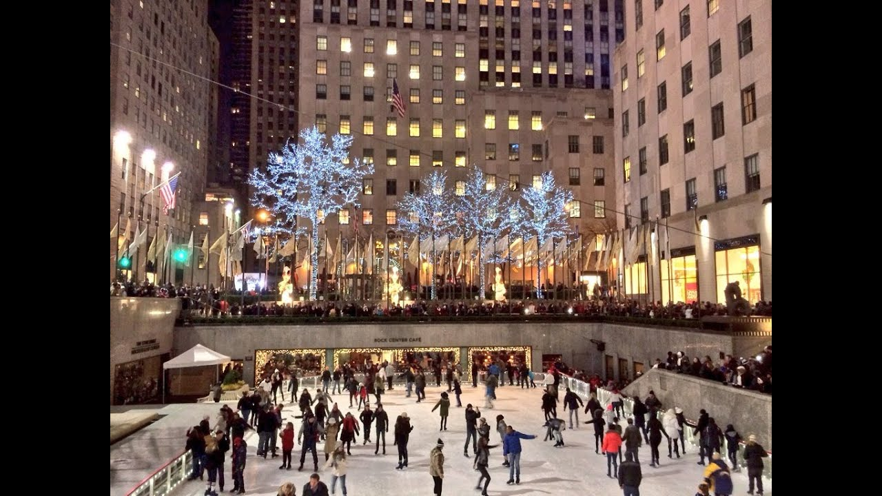 Christmas Time in New York City - YouTube