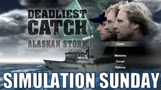 Deadliest Catch Alaskan Storm - A Crab Fishing Simulator - 1 HOUR TUTORIAL??