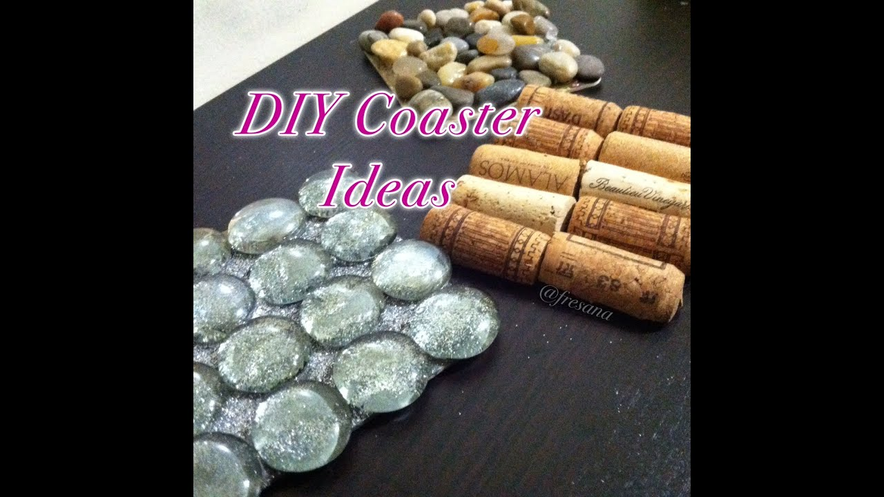 DIY Coaster Ideas - YouTube