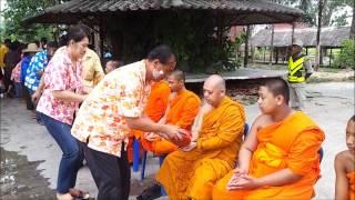 Thailand Amphoe Takhli Wat Nong Pulp Song Kran 2555.wmv