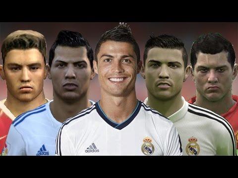 Cristiano Ronaldo From FIFA 04 to 15