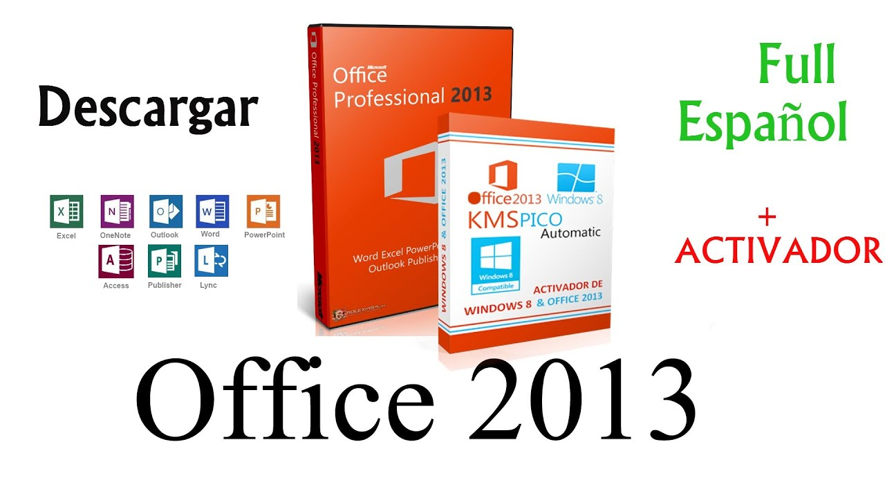 Descargar e Instalar Microsoft Office 2013 Fu…