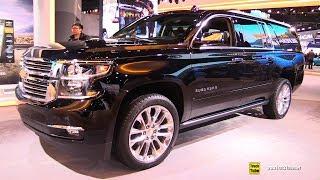 2019 Chevrolet Suburban - Exterior and Interior Walkaround - 2019 Detroit Auto Show