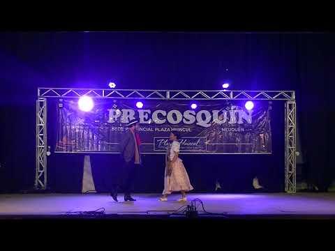 Pareja de baile tradicional FONSECA-VAZQUEZ Marote Moderno