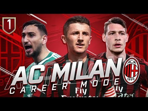 FIFA 19 AC MILAN CAREER MODE 1 - A NEW ERA BEGINS +100 MILLLION TRANSFER BUDGET