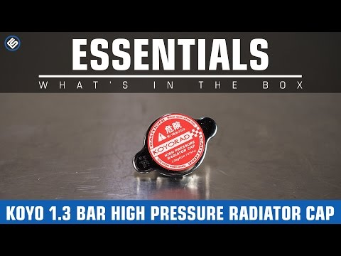 Koyo 1.3 Bar High Pressure Radiator Cap - What's In The Box?