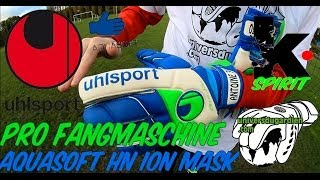 Keeper Spirit [ Test #2 ] -  Uhlsport - Fangmaschine Aquasoft HN Ion-Mask  ( HD 720P )