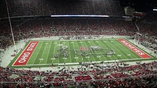 The Ohio State Marching Band Nov. 7 halftime show: Back to the Future