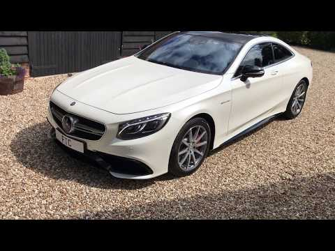 Mercedes S63 AMG V8 BiTurbo [585] [Panoramic] Coupe - FTC Leasing X4/2244