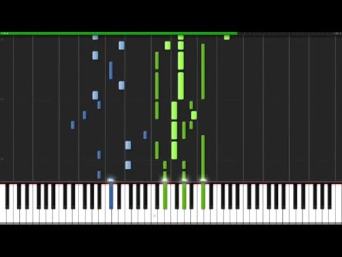 Ruins - Undertale [Piano Tutorial] (Synthesia)