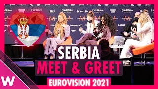 "Serbia Press Conference: Hurricane ""Loco Loco"" @ Eurovision 2021"