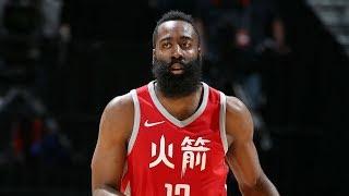 Rockets 9 Game Win Streak! Harden 34 Pts Towns 35 Pts! 2017-18 Season