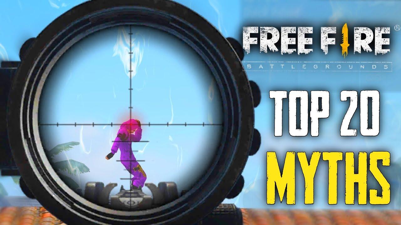 Top 20 Mythbusters in FREEFIRE Battleground | FREEFIRE Myths #168