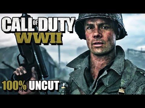 Call of Duty WW2 Gameplay German Story Mode #02 - Wir leben noch